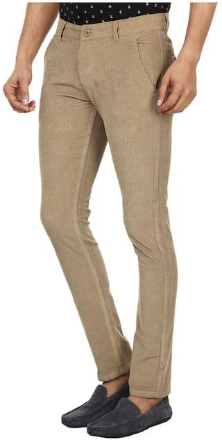 Trousers Beige FEVER Lycra FEVER FEVER Beige Beige Lycra Lycra Trousers Hqd0C