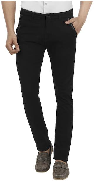 FEVER Black Lycra Trousers