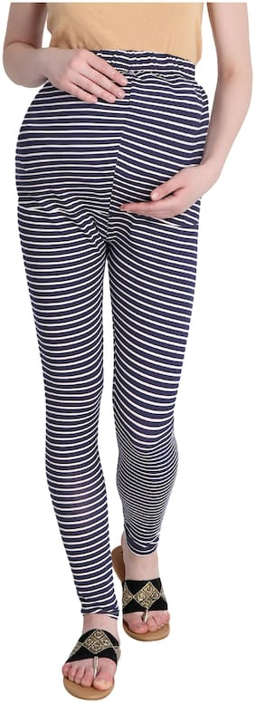 fflirtygo Women Maternity Legging - Blue L