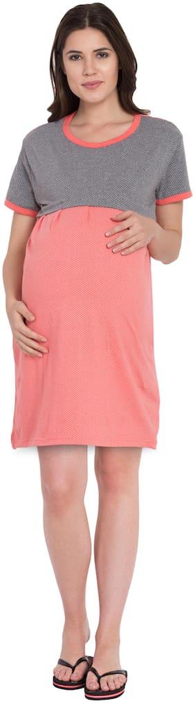 fflirtygo Women Maternity Top - Multicolor M