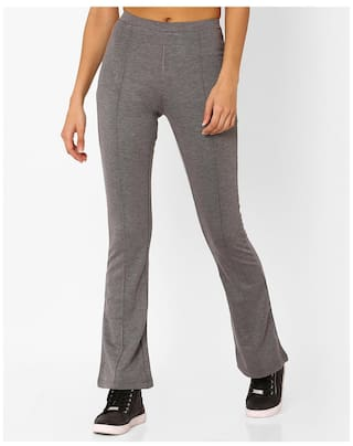 FIG By Reliance Trends Women Blended Solid Trouser