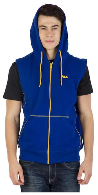 45d7163e6549 Buy Fila Blue Sweatshirts & Hoodies Online at Low Prices in India ...