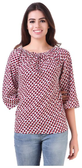 Fine Women Solid Regular top - Multi