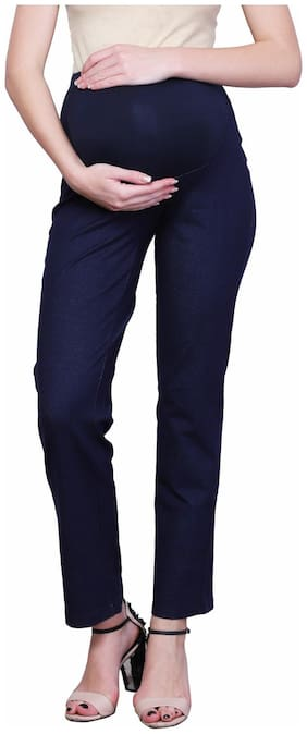 FINESSE MIRACLE CAMI Women Maternity Trousers - Blue Xxl