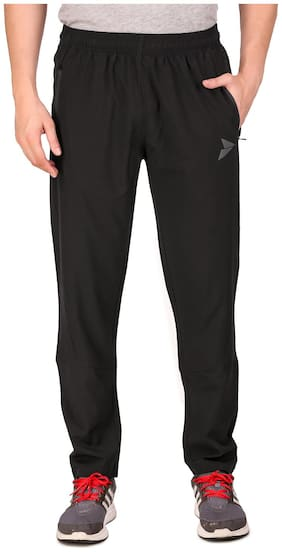 Fitinc NS Polycotton Dryfit Casual and Sportswear Trackpant for Men with Both Side Safety Zipper Pocket