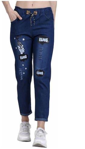FitMiss Women Blue Regular fit Jeans