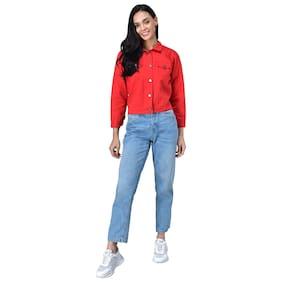 FitMiss Women Summer jacket - Red