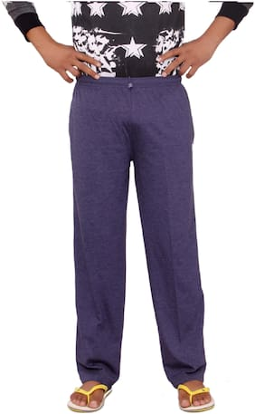 Flamboyant Blue Pyjamas for Men | Mens Long Pyjama Bottom Pants for Summer or Winter