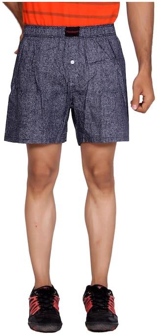 Flamboyant Men Black Regular Fit Regular Shorts