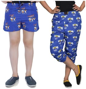 Flamboyant Women Printed Regular shorts & Regular capri - Multi