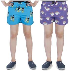 Flamboyant Women Printed Regular shorts - Multi