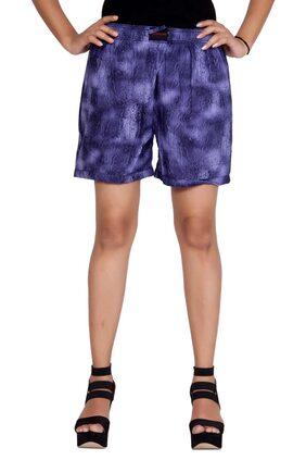 Flamboyant Women Solid Shorts - Multi