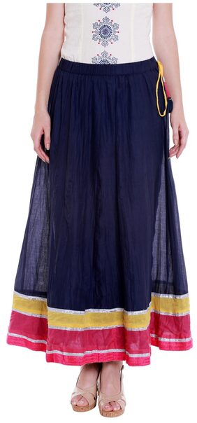 Flared Ethnic Skirt