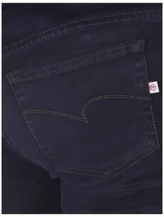 Blue Flirt Stretchable High Women's Jeans Navy Rise Nx POrwcPxqYz