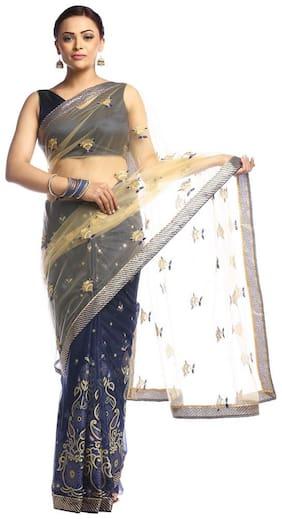 Net Universal Saree ,Pack Of 1