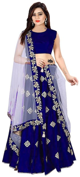 Blended ,Pack Of Choli & Lehenga