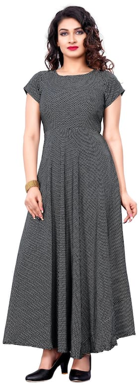 Women Printed Casual Gown Pack of 1