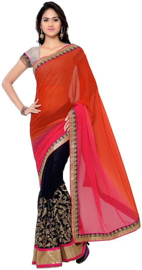 Georgette Universal Saree