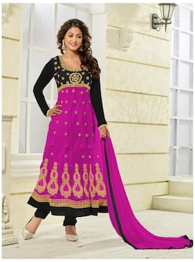 Women Net Dress Material