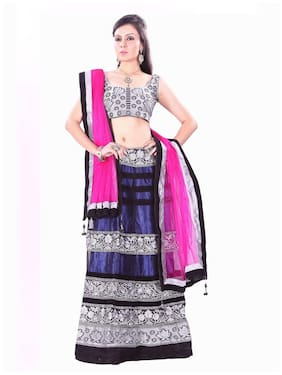 Net Festive Lehnga Choli