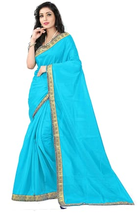 Blended Universal Saree ,Pack Of 1