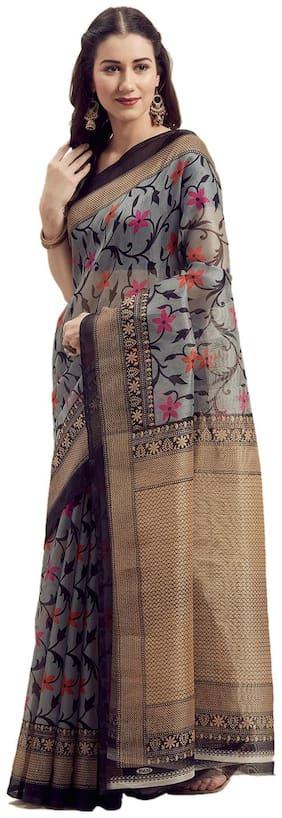 Silk Bhagalpuri Saree ,Pack Of 1