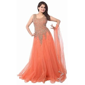 Florence woman's Net Party Wear Gown(GC004)