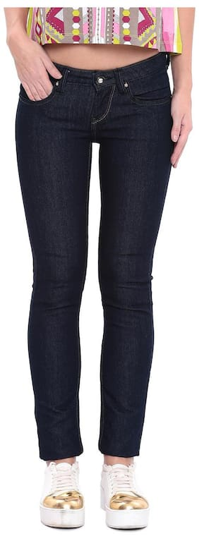Flying Machine Womens Blue Jeans & Jeggings