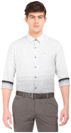 Men Regular Fit Printed Casual Shirt