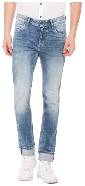 Flying Machine Men Low Rise Skinny Fit ( Skinny Fit ) Jeans - Blue