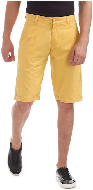Flying Machine Relaxed Fit Woven Shorts