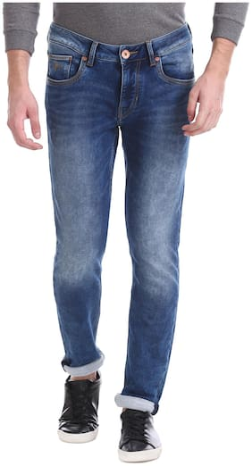 Flying Machine Men Low rise Skinny fit Jeans - Blue