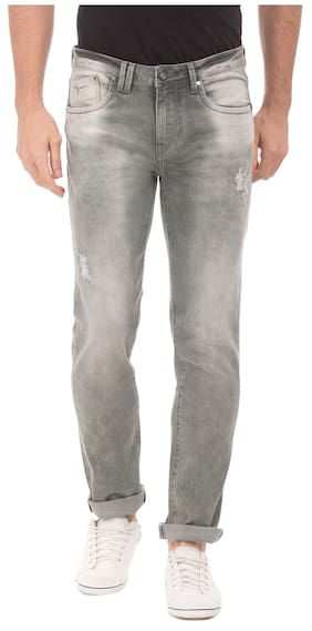 Flying Machine Men Grey Jeans