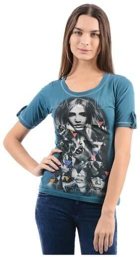 Flying Machine Women Casual T-Shirt