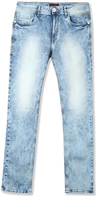 Flying Machine Men Blue Tapered Fit Jeans