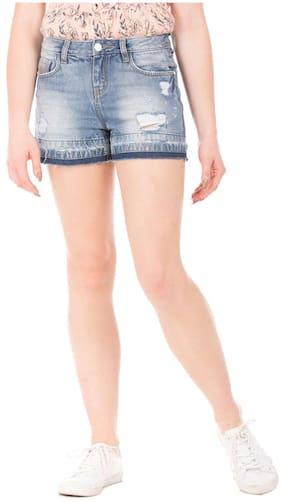 b1a8bda8d18 Capri   Shorts for Women - Buy Denim   Cotton Shorts for Women Online