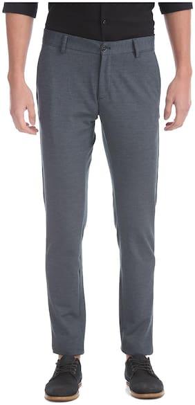 Men Regular Fit Trousers