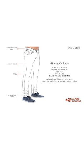 Machine Fit Jeans Flying Grey Skinny Men Sg4u5NuKMQ