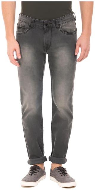 Flying Machine Men Grey Slim Fit Jeans