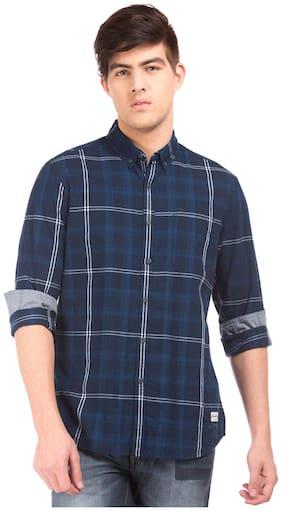 Flying Machine Men Regular Fit Casual shirt - Blue