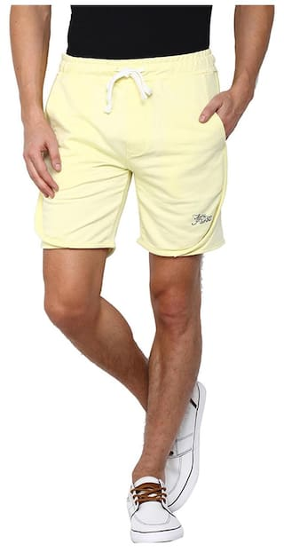 Slim Flying Shorts Yellow Men Machine xIt5uEiZD