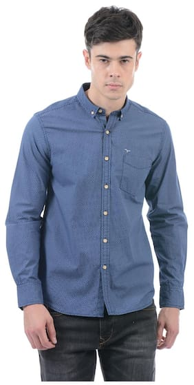 Flying Machine Men's Printed Full Sleeve Shirt