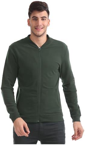 Men Solid Sweatshirt ,Pack Of Pack Of 1
