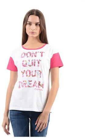 Flying Machine Women Casual T-Shirt