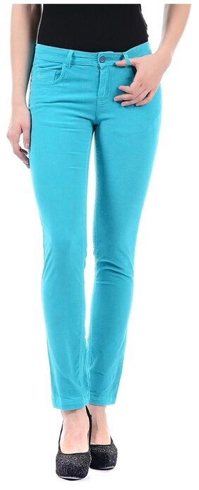 Flying Machine Women Solid Trouser