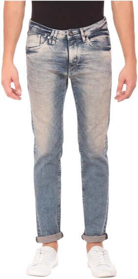 Flying Machine Men Blue Jackson Fit Jeans