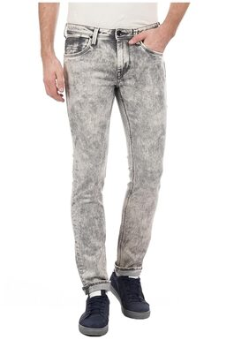 Flying Machine Mens Grey Jeans