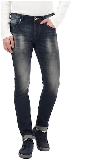 Flying Machine Men Mid rise Skinny fit Jeans - Blue