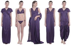Women Lace Nightdress ,Pack Of 6