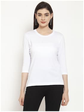 Women 3/4th Sleeves T Shirt ,Pack Of 1